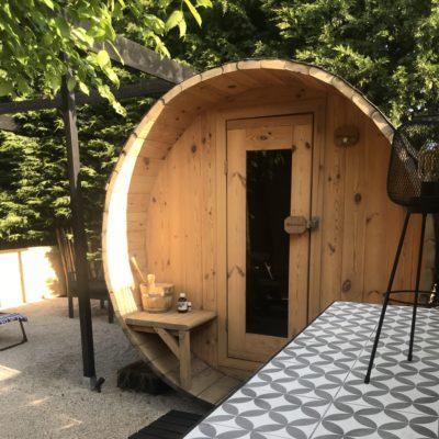 sauna vooraanzicht